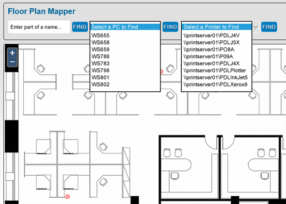 Interactive House Plans Access Sharepoint Calendars Right From Your Office Floor Plans