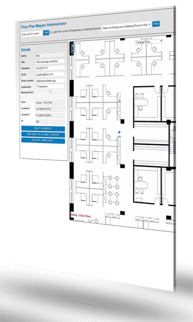 Floor plan mapper interactive office floor plan mapping for Interactive office floor plan
