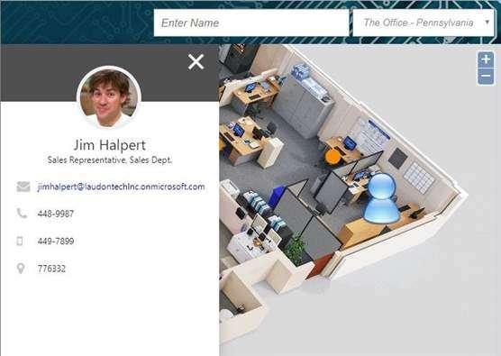 Floor Plan Mapper Employee Profile